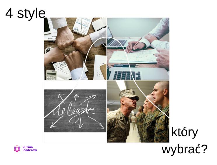 4 style zarządzania sytuacyjnego