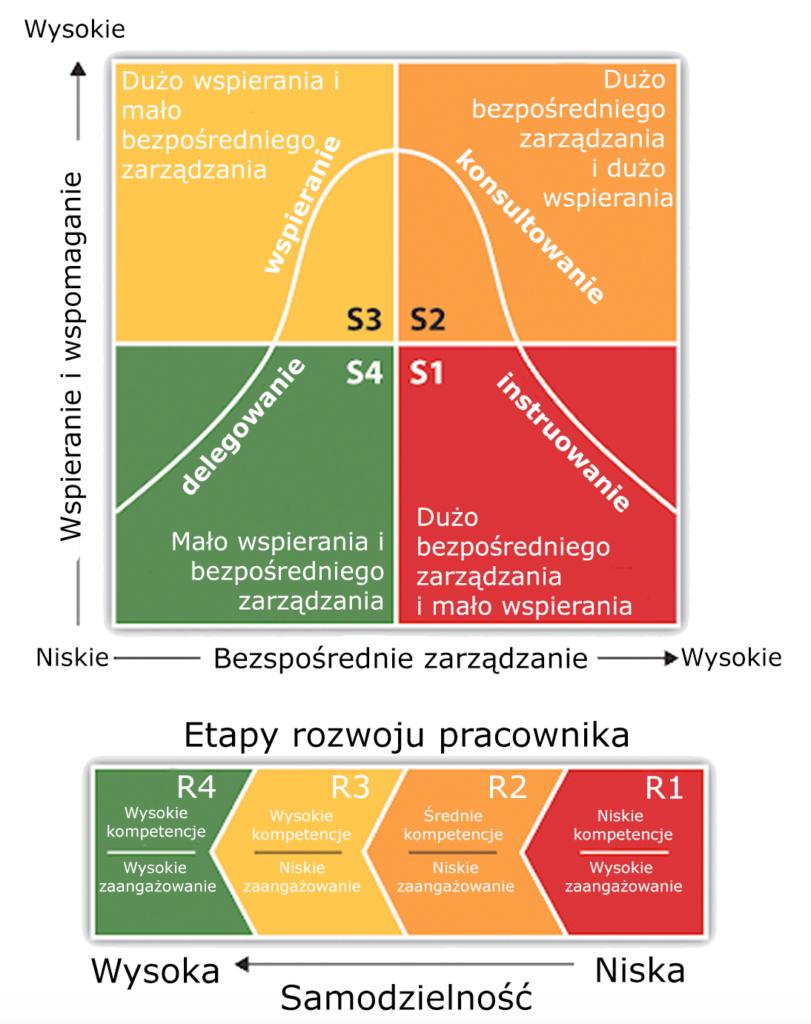 Style zarządzania — diagram